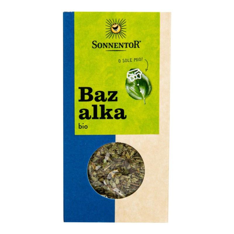 Bazalka 15g BIO SONNENTOR - Zdravá výživa a biopotraviny Ochucovadla Koření